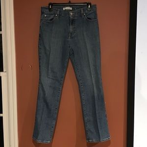 Levi's 550 relaxed boot cut jeans sz 8 short